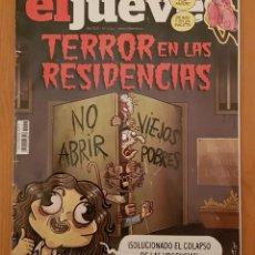 """Coleccionismo de Revista El Jueves: EL JUEVES N° 2.247 (ESPECIAL) """"TERROR EN LAS RESIDENCIAS"""". Lote 222281245"""
