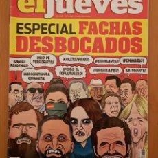 """Coleccionismo de Revista El Jueves: EL JUEVES N° 2.248 (ESPECIAL) """"FACHAS DESBOCADOS"""". Lote 222281331"""
