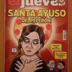 """Coleccionismo de Revista El Jueves: EL JUEVES N° 2.242 (ESPECIAL) """"SANTA AYUSO DEL PEPERONI"""". Lote 222281592"""