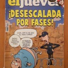 """Coleccionismo de Revista El Jueves: EL JUEVES N° 2.241 (ESPECIAL) """"¡DESESCALADA POR FASES!"""". Lote 222281668"""