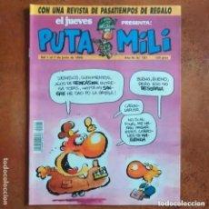 Coleccionismo de Revista El Jueves: PUTA MILI NUM 101. Lote 222522070