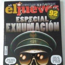 Coleccionismo de Revista El Jueves: EL JUEVES Nº 2193 , ESPECIAL EXHUMACION .. Lote 222583425
