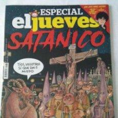 Coleccionismo de Revista El Jueves: EL JUEVES Nº 2131 , ESPECIAL SATANICO .. Lote 222583562