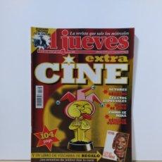 Coleccionismo de Revista El Jueves: EL JUEVES 1136 EXTRA CINE. Lote 222603395