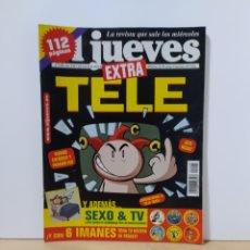 Coleccionismo de Revista El Jueves: EL JUEVES 1245 EXTRA TELE. Lote 222604213
