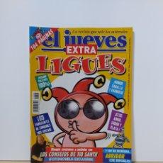 Coleccionismo de Revista El Jueves: EL JUEVES 1258 EXTRA LIGUES. Lote 222604400