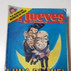 Coleccionismo de Revista El Jueves: REVISTAS EL JUEVES. VARIOS NUMEROS, DISTINTAS EPOCAS. VENTA POR SEPARADO. PRECIO POR UNIDAD. Lote 222611551