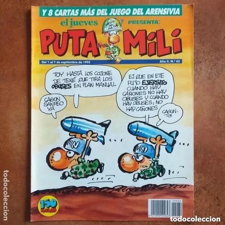 PUTA MILI NUM 62 (Coleccionismo - Revistas y Periódicos Modernos (a partir de 1.940) - Revista El Jueves)