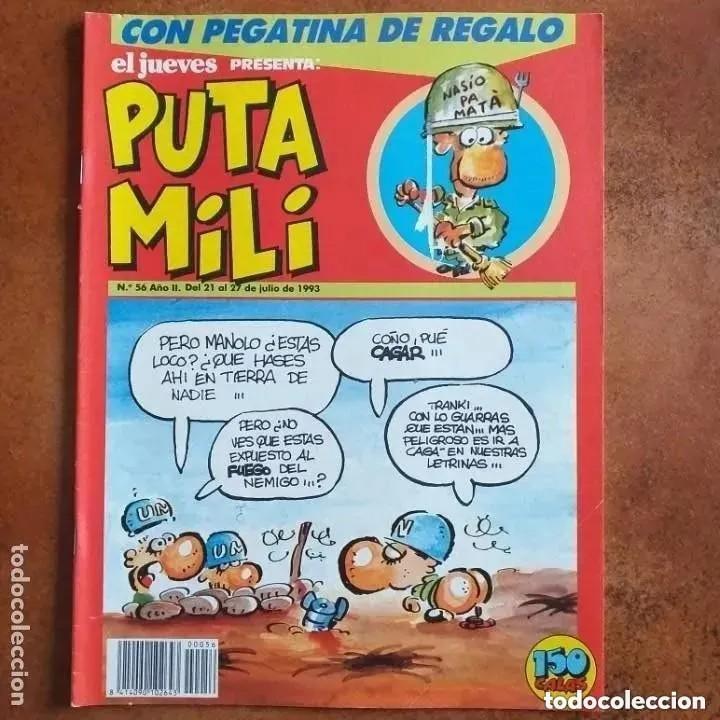 PUTA MILI NUM 56 (Coleccionismo - Revistas y Periódicos Modernos (a partir de 1.940) - Revista El Jueves)