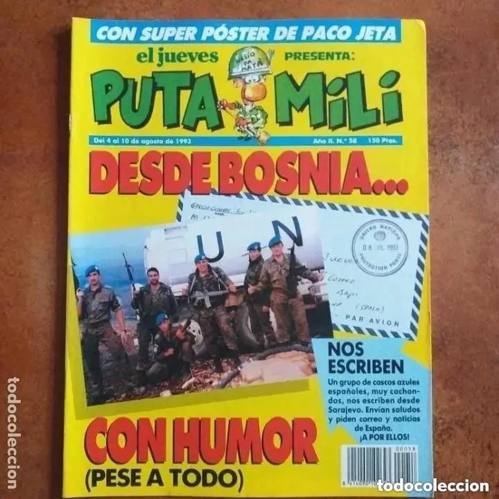 PUTA MILI NUM 58 (Coleccionismo - Revistas y Periódicos Modernos (a partir de 1.940) - Revista El Jueves)