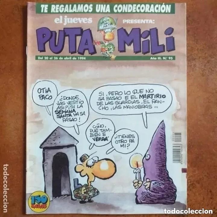 PUTA MILI NUM 95 (Coleccionismo - Revistas y Periódicos Modernos (a partir de 1.940) - Revista El Jueves)