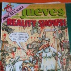 Coleccionismo de Revista El Jueves: EL JUEVES 831 28 ABRIL 4 MAYO 1993 REALITY SHOWS! - POSTER AZNAR. Lote 222785896