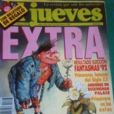 Coleccionismo de Revista El Jueves: EL JUEVES 823 3 AL 9 MARZO 1993 EXTRA PRIMAVERA - POSTER YA ES PRIMAVERA EN EL JUEVES. Lote 222785991