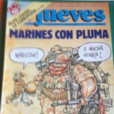 Coleccionismo de Revista El Jueves: EL JUEVES 820 10 AL 16 FEBRERO1993 MARINES CON PLUMA -POSTER TRATADO DE LA UNION EUROPEA. Lote 222786250