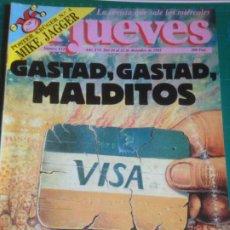 Coleccionismo de Revista El Jueves: EL JUEVES 812 116 AL 22 DICIEMBRE 1992 - GASTAD GASTAD MALDITOS - POSTER MICK JAGGER. Lote 222786361