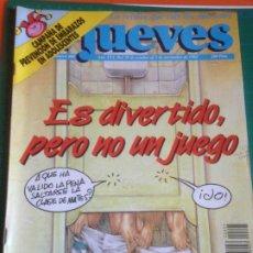 Coleccionismo de Revista El Jueves: EL JUEVES 805 28 OCTUBRE AL 3 NOVIEMBRE 1992 - ES DIVERTIDO...-POSTER CRISTOBAL GERARD DEPARDIEU. Lote 222786792