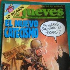 Coleccionismo de Revista El Jueves: EL JUEVES 802 7 AL 13 OCTUBRE 1992 - EL NUEVO CATECISMO - POSTER ROCK AND ROLL CIRCUS. Lote 222786953