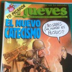 Coleccionismo de Revista El Jueves: EL JUEVES 802 7 AL 13 OCTUBRE 1992 - EL NUEVO CATECISMO - POSTER ROCK AND ROLL CIRCUS. Lote 222786997