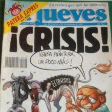 Coleccionismo de Revista El Jueves: EL JUEVES 799 16 AL 22 SEPTIEMBRE 1992 - CRISIS - POSTER ROSA CONDE. Lote 222793460