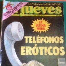 Coleccionismo de Revista El Jueves: EL JUEVES 790 15 AL 21 JULIO 1992 - TELEFONOS EROTICOS. Lote 222793523