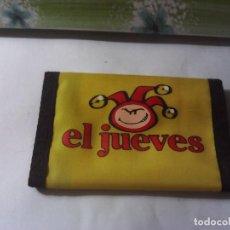 Coleccionismo de Revista El Jueves: CARTERA EL JUEVES SIN USO. Lote 222793845