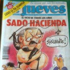 Coleccionismo de Revista El Jueves: EL JUEVES 787 24 AL 30 JUNIO 1992- SADO HACIENDA-. Lote 222793851