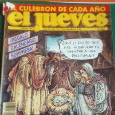 Coleccionismo de Revista El Jueves: EL JUEVES 759 - 11 AL 17 DICIEMBRE 1991 - EXTRA NAVIDAD. Lote 222854495