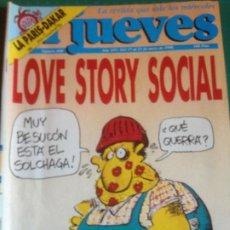 Coleccionismo de Revista El Jueves: EL JUEVES 660 -17 AL 23 ENERO 1990 -LOVE STORY SOCIAL. Lote 222855696