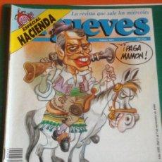 Coleccionismo de Revista El Jueves: EL JUEVES 649 - 1 AL 7 NOVIEMBRE 1989 -VUELVE CURRO BORRELL. Lote 222855742