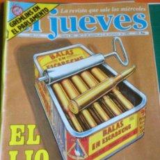 Coleccionismo de Revista El Jueves: EL JUEVES 388 - 31 OCT AL 6 NOV 1984 - EL LIO DE LA PESCA - POSTER HOMENAJE A TARZÁN. Lote 222855947