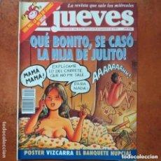 Coleccionismo de Revista El Jueves: EL JUEVES NUM 852. QUE BONITO, SE CASO LA HIJA DE JULITO.. Lote 222906123