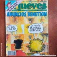 Coleccionismo de Revista El Jueves: EL JUEVES NUM 840. ANUNCIOS BENETTON. Lote 222906230