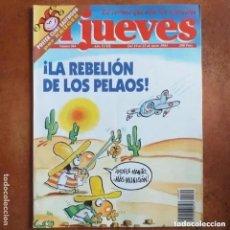 Coleccionismo de Revista El Jueves: EL JUEVES NUM 869. LA REBELION DE LOS PELAOS. Lote 222906298