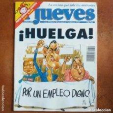 Coleccionismo de Revista El Jueves: EL JUEVES NUM 870. HUELGA. Lote 222906345