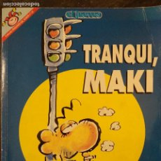 Coleccionismo de Revista El Jueves: TRANQUI, MAKI - PENDONES DEL HUMOR Nº 121 - IVÁ - EL JUEVES. Lote 224603590