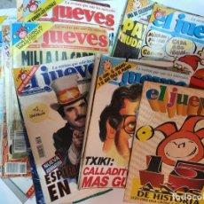 Coleccionismo de Revista El Jueves: REVISTA EL JUEVES AÑOS 90 LOTE DE 45 REVISTAS. Lote 224664036