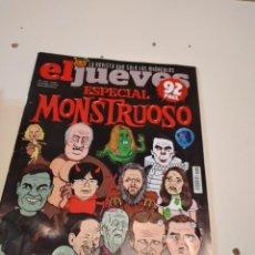 Coleccionismo de Revista El Jueves: G-55 REVISTA EL JUEVES ESPECIAL MONSTRUOSO Nº 2162. Lote 224904466