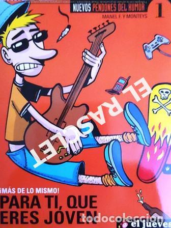 EL JUEVES PRESENTA - NUEVOS PENDONES - Nº 1 - (Coleccionismo - Revistas y Periódicos Modernos (a partir de 1.940) - Revista El Jueves)