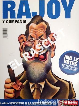 EL JUEVES PRESENTA - RAJOY - ZAPATERO Y COMPAÑIA - (Coleccionismo - Revistas y Periódicos Modernos (a partir de 1.940) - Revista El Jueves)