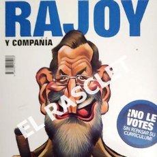 Coleccionismo de Revista El Jueves: EL JUEVES PRESENTA - RAJOY - ZAPATERO Y COMPAÑIA -. Lote 226049426