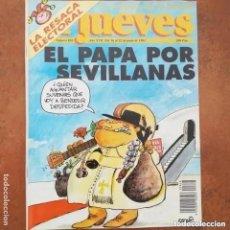 Coleccionismo de Revista El Jueves: EL JUEVES NUM 838. EL PAPA POR SEVILLANAS. Lote 227917830