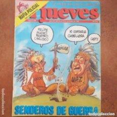 Coleccionismo de Revista El Jueves: EL JUEVES NUM 600. SENDEROS DE GUERRA. Lote 227917915