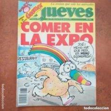 Coleccionismo de Revista El Jueves: EL JUEVES NUM 780 COMER EN LA EXPO. Lote 227917995