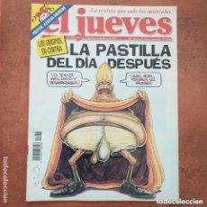 Coleccionismo de Revista El Jueves: EL JUEVES NUM 1252. LA PASTILLA DEL DIA DESPUÉS. Lote 227947300