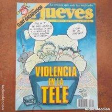 Coleccionismo de Revista El Jueves: EL JUEVES NUM 829. VIOLENCIA EN LA TELE. Lote 227950110