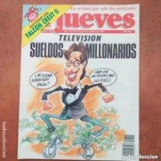 Coleccionismo de Revista El Jueves: EL JUEVES NUM 804. TELEVISIÓN. SUELDOS MILLONARIOS. Lote 227950580