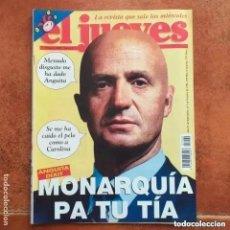 Coleccionismo de Revista El Jueves: EL JUEVES NUM 1009. MONARQUIA PA TU TIA. Lote 227965785