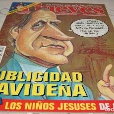 Coleccionismo de Revista El Jueves: REVISTA EL JUEVES NÚMERO 1126 - NO TIENE EL PÓSTER. Lote 230262075