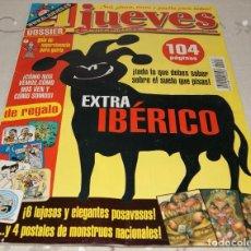 Coleccionismo de Revista El Jueves: REVISTA EL JUEVES NÚMERO 1206 AÑO XXIV. Lote 230269885