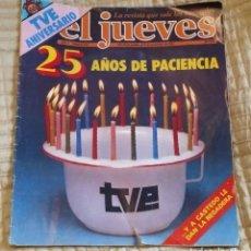 Coleccionismo de Revista El Jueves: ANTIGUO ESPECIAL EL JUEVES 25 AÑOS ANIVERSARIO TVE OCTUBRE 1981. Lote 230865590